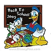 Disney Back to School Pin - 2009 - Donald Duck and Nephews