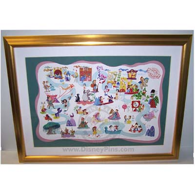 Your WDW Store - Disney Framed Pin Set - It\'s A Small World A ...