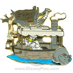 Disney Started With Walt Pin - Jungle Cruise