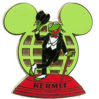 Disney Resort Ear Globe Pin - Kermit