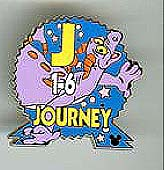 Disney Cast Lanyard Pin - Epcot Parking Signs - Journey