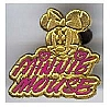 Disney Cast Lanyard Pin - Signature - Minnie Mouse