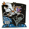 Disney Pin-tiquities Pin - Science & Industry - Figment in Space