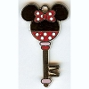 Disney Mystery Pin - 2011 - Character Key - Minnie Mouse