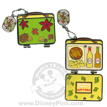 Disney Marquee Pin - Lunchbox - Chip and Dale
