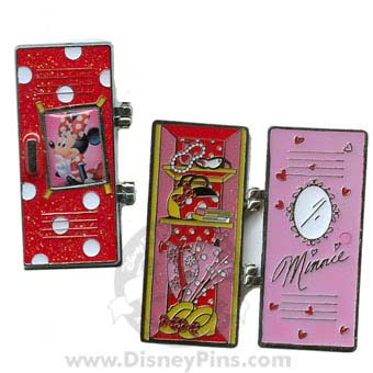 Disney Marquee Pin - Lockers - Minnie Mouse