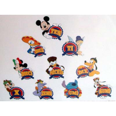 Disney Mystery Pin Collection - Pin Trading Anniversary - Complete Set