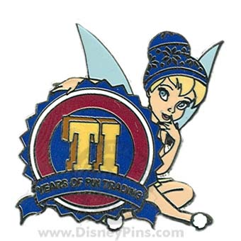 Disney Mystery Pin - Pin Trading 10th Anniversary - Tinkerbell - Ti