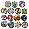 Disney Mystery Pin - Bottle Caps - COMPLETE 15 PIN SET