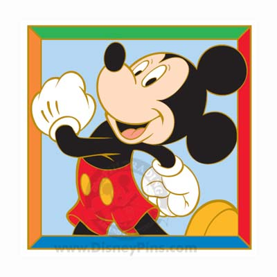 Disney Mickey and Friends Puzzle Pin - Mickey Mouse 2009