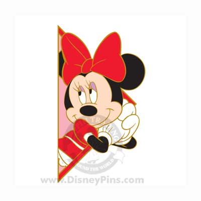 Disney Mickey and Friends Puzzle Pin - Minnie 2008