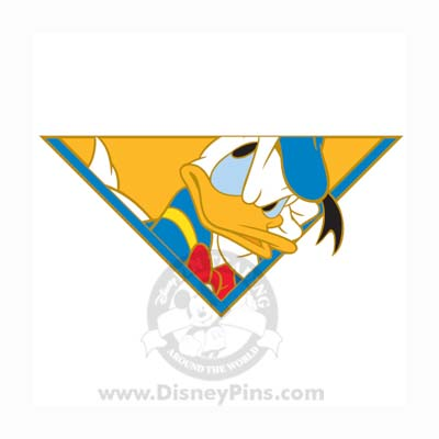 Disney Mickey and Friends Puzzle Pin - Donald Duck 2009