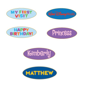 Disney Personalized Pin - NAMEPLATES - David