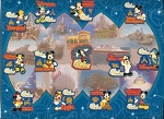 Disney Illustration & Completer Pin - Around Our World With Mickey