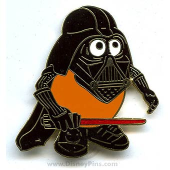 Disney Star Wars Pin - Darth Tater
