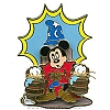Disney White Glove Pin - Sorcerer Mickey