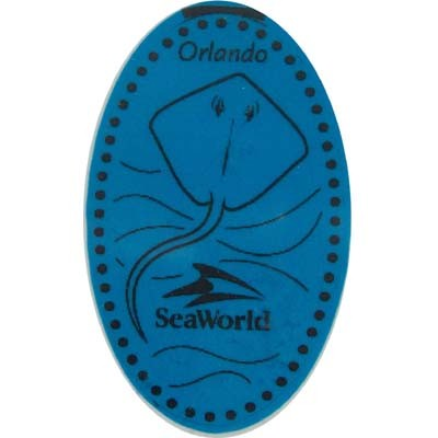 SeaWorld Pressed Penny - Sting Ray