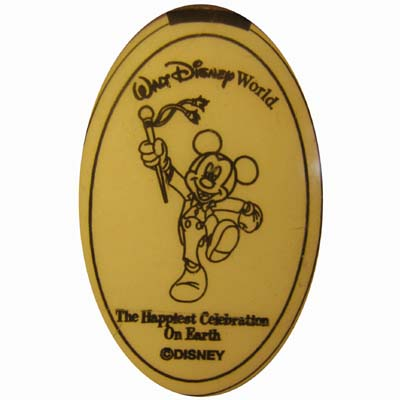 Disney Pressed Quarter - Celebration - Marching Mickey Mouse