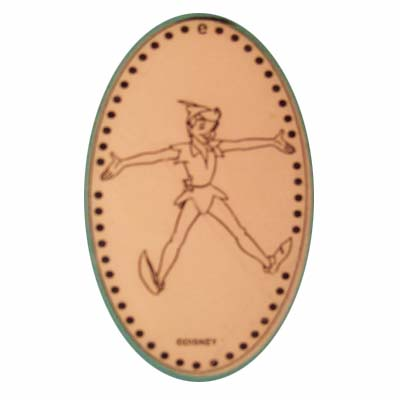 Disney Pressed Penny - Peter Pan