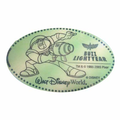 Disney Pressed Penny - Buzz Lightyear with Astro Blaster