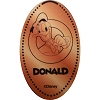 Disney Pressed Penny - Donald with