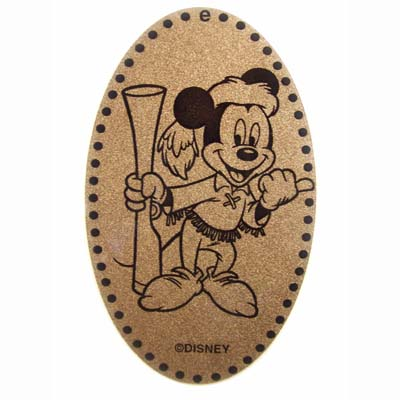 Disney Pressed Penny - Mickey Mouse with musket