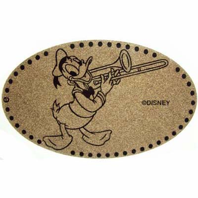 Disney Pressed Penny - Donald Duck with trombone