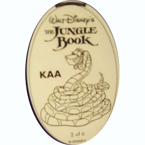 Disney Pressed Penny - The Jungle Book - Kaa