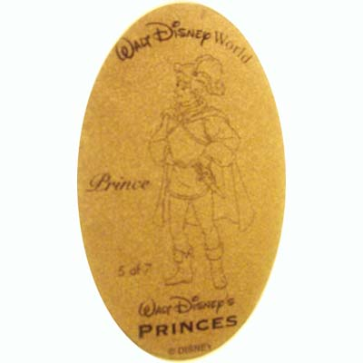 Disney Pressed Penny - Princes - Prince from Snow White