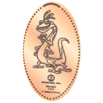 Disney Pressed Penny - Randall, Monsters, Inc.