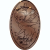 Disney Pressed Penny - Tinker Bell Pixie Hollow - Tinkerbell