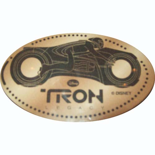 Disney Pressed Penny -  Tron - Sam on Light Cycle