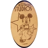 Disney Pressed Quarter - Minnie Mouse Disney's Hollywood Studios Logo
