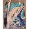 SeaWorld Autograph book with pen and Case - Bottlenose Dolphin