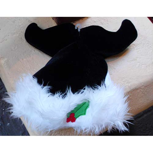 your wdw store sea world santa christmas holiday hat black shamu