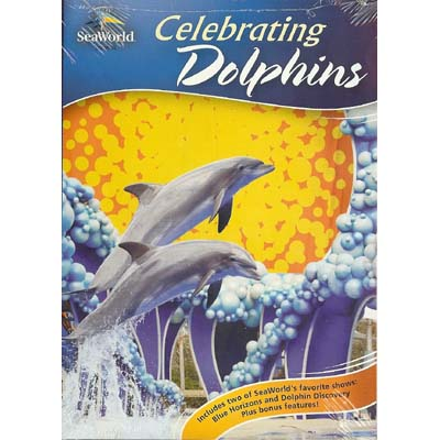SeaWorld DVD - Celebrating Dolphins - Blue Horizons and Discovery