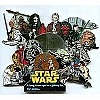 Disney Star Wars Weekends 2006 Boxed Super Jumbo Pin Multi-Character