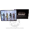 Disney Star Wars Weekends 2007 - 4 Jumbo Pin Boxed Bounty Hunters Set