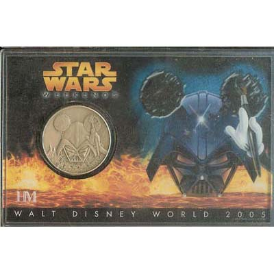 Disney Star Wars Coin - 2005 Nickel Silver
