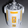 Disney Star Wars Weekends Toy - Create A Droid - R7 Body Yellow White