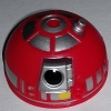 Disney Star Wars Weekends Toy - Create A Droid - R2 Head Red Silver