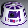 Disney Star Wars Weekends Toy - Create A Droid - R6 Dome Head Purple