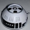 Disney Star Wars Weekends Toy - Create A Droid - R8 Dome Head Black