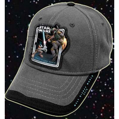 Add to My Lists. Disney Baseball Cap - Star Wars Weekends 2010 Logo Boba  Fett b9acf20ede4