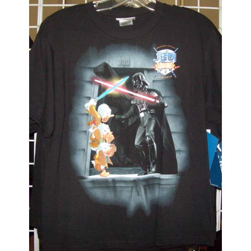 Disney Child Shirt - Star Wars 2011 Darth Vader Hewy Dewy Louie