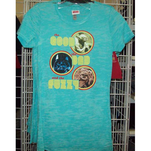 Disney Star Wars Weekends 2011 Logo Shirt - the GOOD BAD and FUZZY