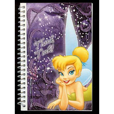 Disney Autograph Book and Pen - Tinker Bell