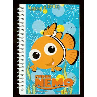 Disney Autograph Book and Pen - Finding Nemo