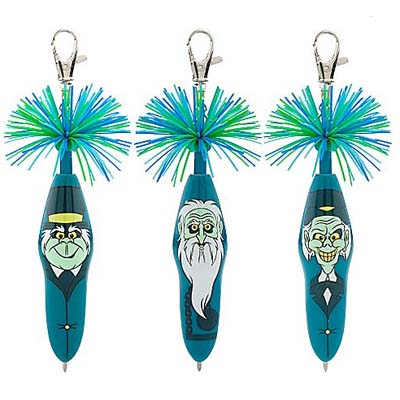 Disney Kooky Pen Set - The Haunted Mansion - Glow-In-Dark