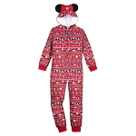 Disney Girls Bodysuit - Minnie Mouse Holiday Icons